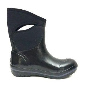 NEW BOGS Black Waterproof Slip-On Women's Boots 10
